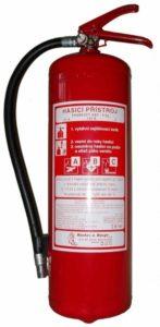 Hastex Hasicí přístroj práškový 6 kg- P6Te