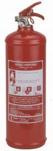 Recenze: Hastex Práškový hasicí přístroj 2 kg - PR2e