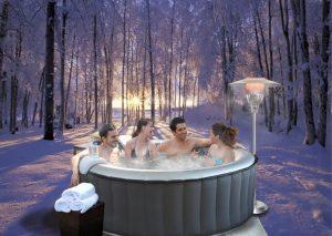 virivka v zimě