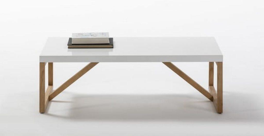 Bílý konferenční stolek Marckeric Galia