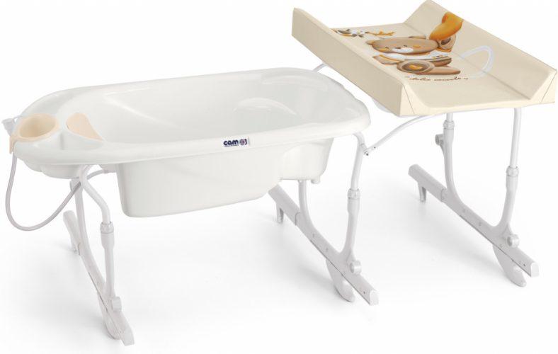 CAM přebalovací stůl Idro baby s vaničkou