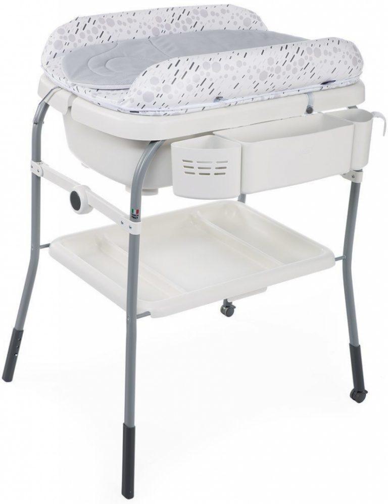 Chicco Přebalovací stolek s vaničkou Cuddle & Bubble Cool