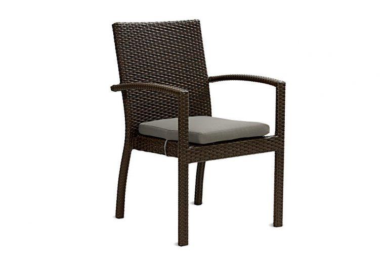 Zahradní židle Korsika choco